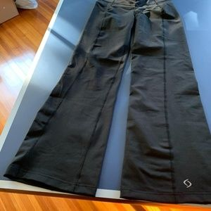 Moving Comfort bootcut winter leggings